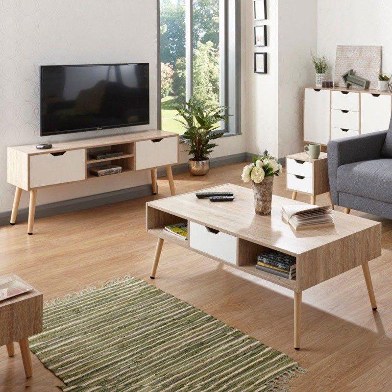дрвена нограка за мебел