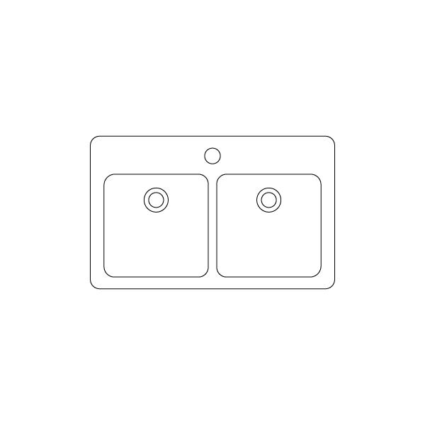 sadoper so dve simetricni korita
